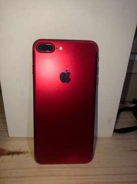 Iphone 7 plus RED + 11 fundas