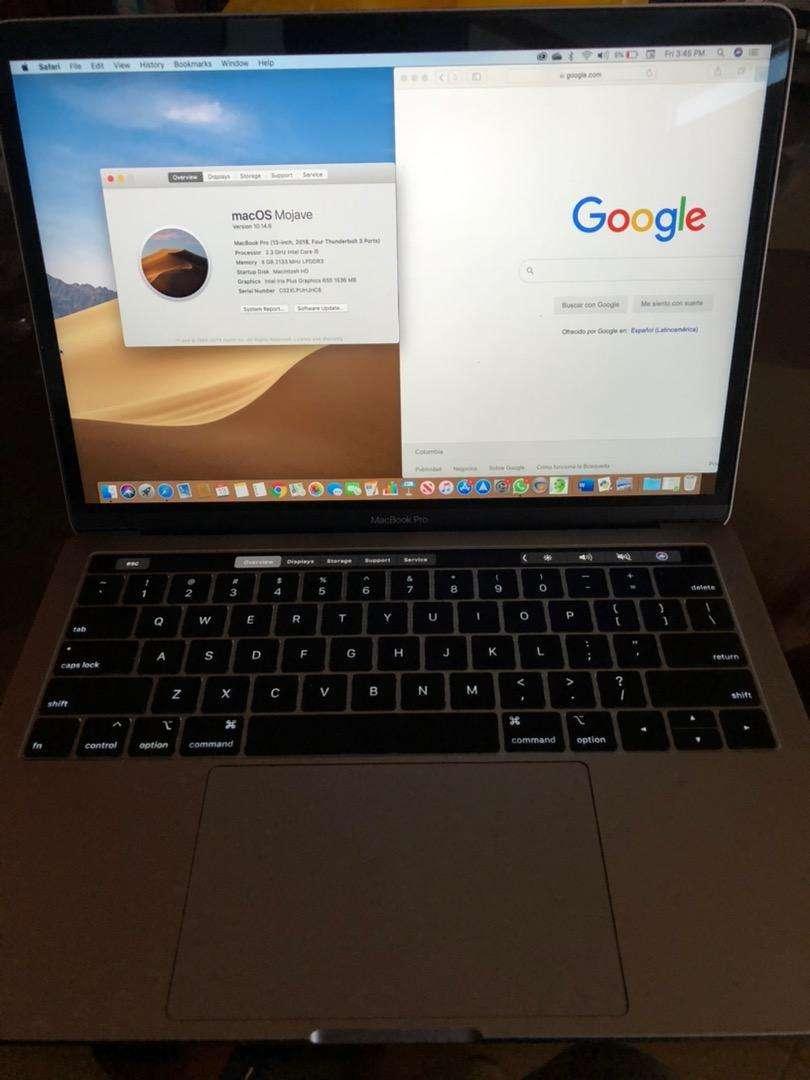 Macbook pro 13 pulgadas touchbar 0