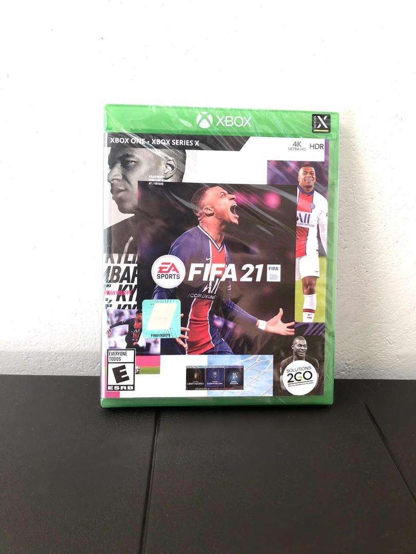 Video Juego Fifa21 para Xbox , cambio a minecraft