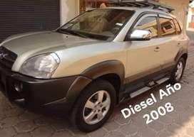 Hyundai Tucson a Diesel  Año 2008