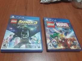 VENDO JUEGOS PS4 NUEVOS Y SELLADOS LEGO MARVEL Y LEGO BATMAN