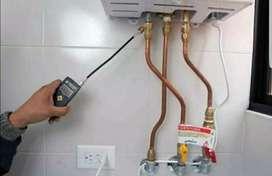 Mantenimiento y reparación calentadores a gas