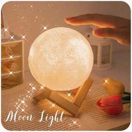 Lámpara diseño luna