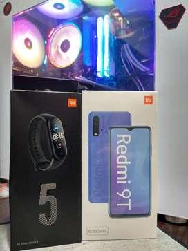 Xiaomi Redmi 9t 64GB + Mi Band 5 Global Version