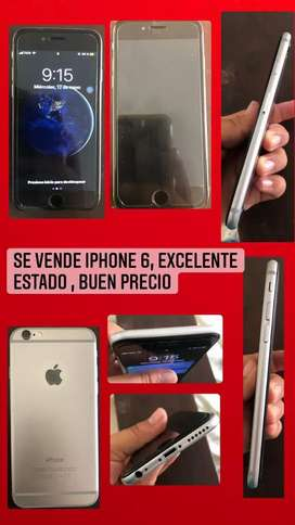 Vendo iphone 6 en buen estado