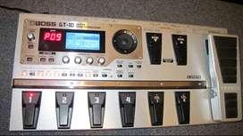 Pedalera guitarra BOSS GT 10 MIDI Interface USB