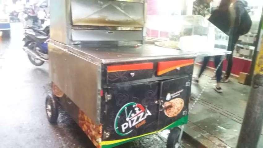 Carro de pizza como nuevo 0