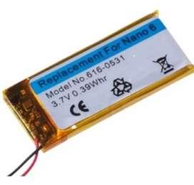 Bateria Para iPod Nano 6 6ta Generacio