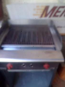 Vendo parrilla industrial