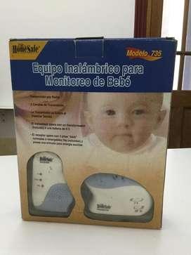 MONITOREO DE BEBE - Equipo Baby Call excelente estado, poco uso, como nuevo.!