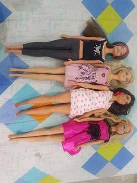 Lote 4 Barbies
