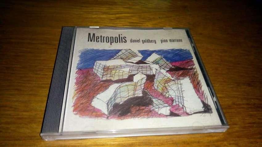 Daniel Goldberg  Pino Marrone ?– Metropolis  CD ARG 0