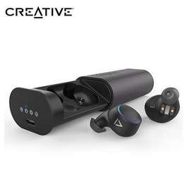 AUDIFONO C/MICROF. CREATIVE OUTLIER AIR TRUE WIRELESS IN-EARS IPX5 BLUETOOTH BLACK