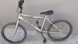 Bicicleta de niños color gris