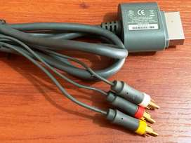 Vendo Cable Audio Video Xbox 360 Original Microsoft
