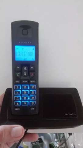 Inalambrico Alcatel de pantalla con altavoz