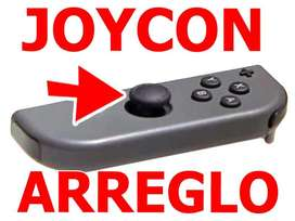 Nintendo Switch Arreglo Analogo Joycon Garantia Reparacion