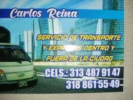 Se realiza servicio de transporte y acarreos mudanzas en Chía