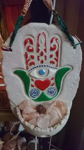 Lamparas de Sal himalaya