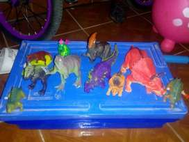 Vendo lote de dinosaurios