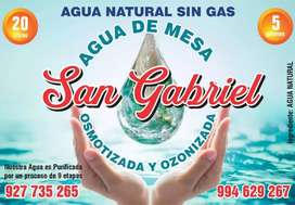 Distribuidores de agua San Gabriel