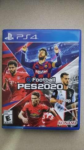 Pes 2020 Juego PS4