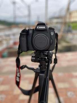 Camara Canon 6D Full frame + Equipo profesional