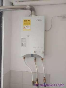 Calentador de agua de 10 litros T.f
