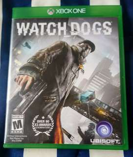 Vendo o Cambio juego Xbox One Watch Dogs