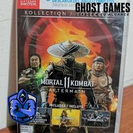Mortal Kombat 11 Aftermath - nuevo - Nintendo Switch