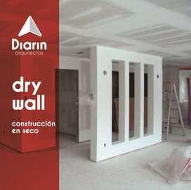 drywall, remodelación con drywall, casas, oficinas, cielo raso, drywall de gatantía
