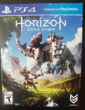 Juego Horizon Zero Dawn Usado en perfecto estado para PS4