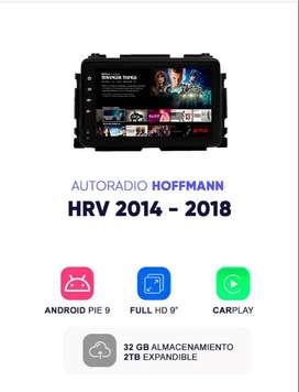 Autoradio Android 9.1 Homologado Honda HRV Hoffmann  2014- 2019 9″