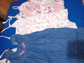 Vestidos de nenas de 2 a 3 años más o menos
