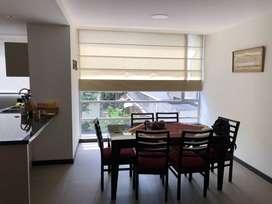 Rento Apartamento Amoblado - 2 Dormitorios - La Carolina - Excelentes Áreas Comunales