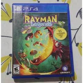 Vendo/Cambio Rayman Legends PS4