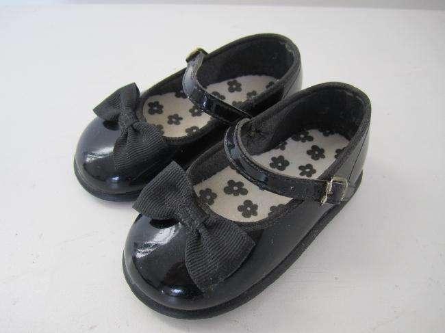 Zapatos de Charol con Moño para Bebe Talle 10/ 11cm IMPORTED