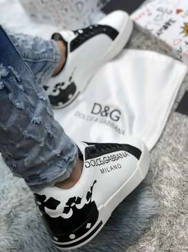 Tenis Dolce Gabbana Blancos Importados