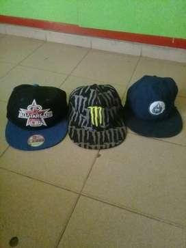 Gorras usadas en muy buen estado