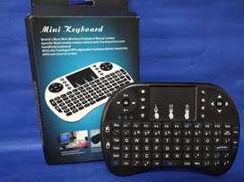 Espectacular teclado para el TV.