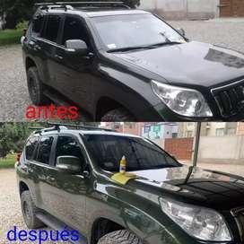 TRATAMIENTO CERÁMICO PARA AUTO Y MOTO LINEAL (LÍQUIDO DE VIDRIO).