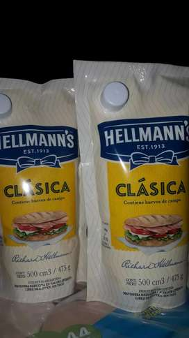 Mayonesa hellmans 500 cm3