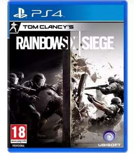 RAINBOWSIX- PS4 - ORIGINAL