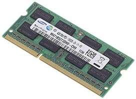 Memoria RAM 4GB DDR3 Notebook Sodim (La Plata)