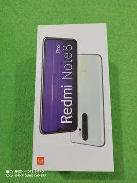 Nuevecito Xiomi Redmi Note 8 pro, 6 Gb Ram, 4 cámaras traceras y 1 delantera ,128 gb de almacenamiento interno