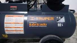 Compresor de aire Truper como nuevo