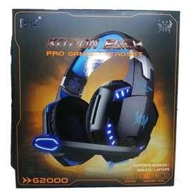 DIADEMA GAMER G2000