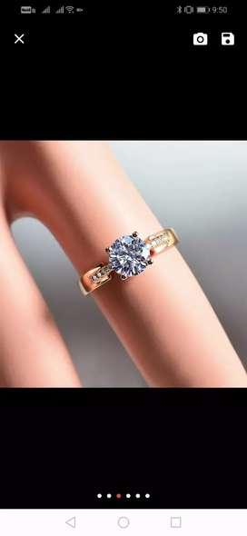 anillos de compromiso oro y plata  oro blanco