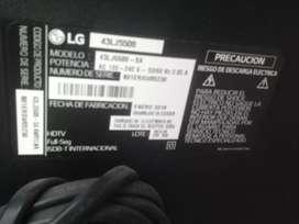 Vento smartv de 43 marca LG dañada pantalla