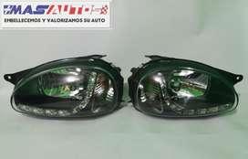 Farolas Chevrolet corsa en LED 1996 2007 / Pago contra entrega a nivel nacional